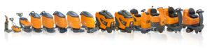 Batteridrivna Kombimaskiner